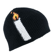Light Black Beanie