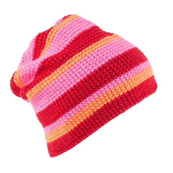Stripes Red Beanie