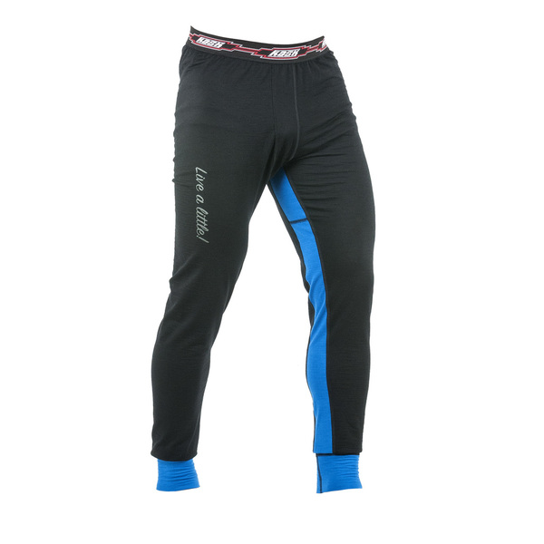 Mens Longjohn 200 Black/Blue alushousu